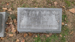 Ruby F <I>Herring</I> Edwards