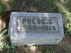 Phebe E <I>Andrews</I> Evans