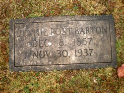 Jennie <I>Post</I> Barton