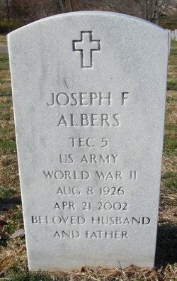 """Joseph Francis """"Joe"""" Albers"""
