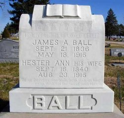 Hester Ann <I>Jones</I> Ball
