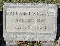 Margaret Virginia <I>Bunting</I> Barnes