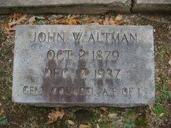 John William Altman