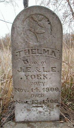 Thelma York