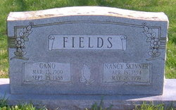 Nancy Jane <I>Skinner</I> Fields