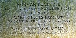 Mary Rhodes <I>Barstow</I> Rockwell