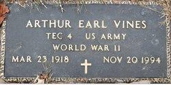 Arthur Earl Vines
