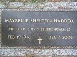 Maybelle <I>Shelton</I> Haddox