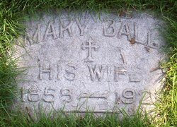 Mary <I>Ball</I> Bauer