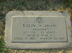 LTC Rolin Wesley Shaw