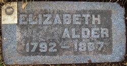 Elizabeth <I>Bevan</I> Alder