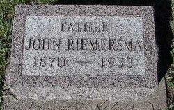"Jan ""John"" Riemersma"
