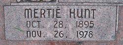 Mertie <I>Hunt</I> Richards