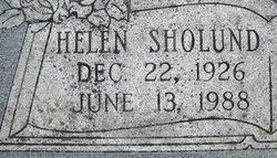 Helen Margaret <I>Sholund</I> Richards