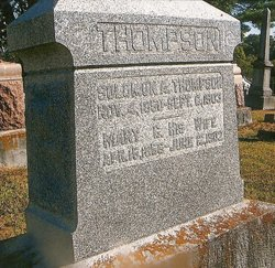 Mary C. <I>Setser</I> Thompson
