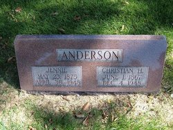Christian H Anderson