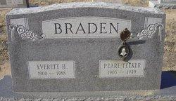 Pearl <I>Felker</I> Braden
