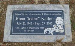 """Rona """"Joann"""" Kalloo"""
