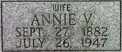 Annie Victoria <I>Jones</I> Haddock