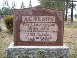 William Gordon Fallis Acheson