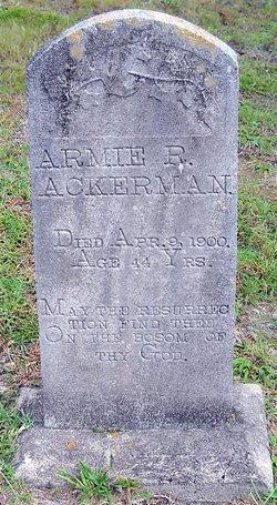 Armie R. Ackerman