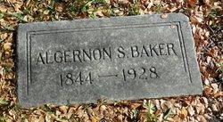 Algernon S Baker