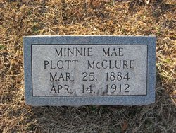 Minnie Mae <I>Plott</I> McClure
