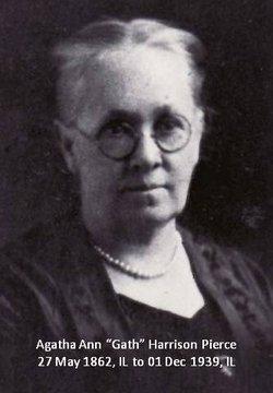 """Agatha Ann """"Gath"""" <I>Harrison</I> Pierce"""
