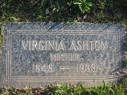 Virginia <I>Carter</I> Ashton
