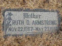 Ruth Hannah <I>Draper</I> Armstrong