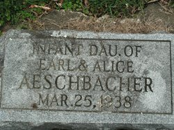 Infant Daughter Aeschbacher
