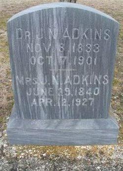 Dr Jasper Newton Adkins