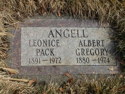 Leonice May <I>Pack</I> Angell