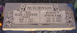 Helen Catherine <I>Jones</I> Hutchinson