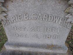 Marie B Cardwell