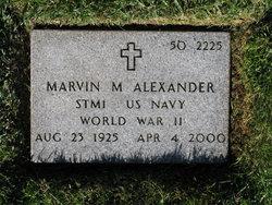 Marvin Milton Alexander