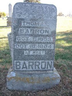 Thomas John Barron