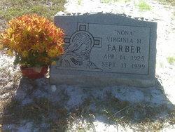 Virginia Nona M <I>Bertoli</I> Farber