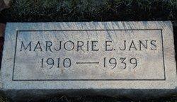 Marjorie Esther <I>Spotswood</I> Jans