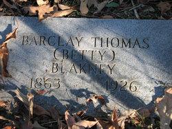 Barclay Thomas Blakney