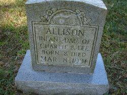 Infant Allison