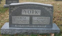 """Theresa """"Thersy"""" York"""