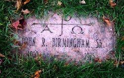 John R Birmingham Sr.