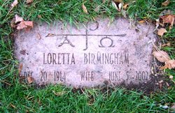 Loretta <I>Cooney</I> Birmingham