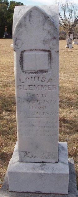Louisa Eva <I>Rhyne</I> Clemmer