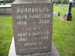 Agnes Matilda <I>McKernan</I> Burroughs