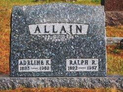 Adeline Katherine <I>Johnson</I> Allain