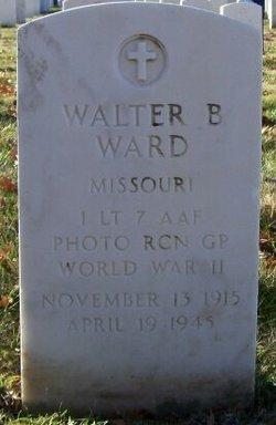 Walter B Ward