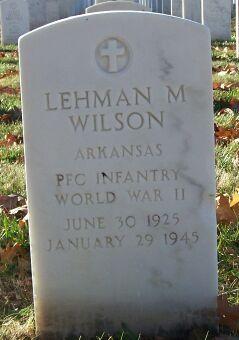 PFC Lehman Malone Wilson