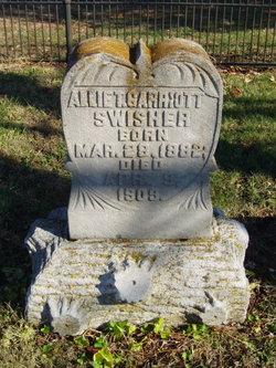 Allie Totten <I>Garriott</I> Swisher